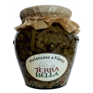 Melanzane a filetto in olio 280 Gr.