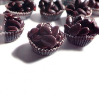 Cestini di Mandorle al Cioccolato