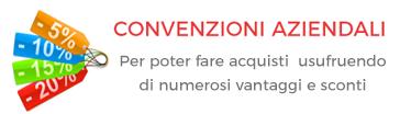 Convenzioni Aziendali, per poter fare acquisti usufruendo di numerosi vantaggi e sconti!