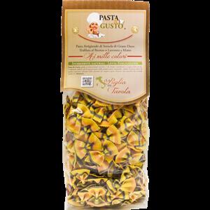 Pasta Aromatizzata o Colorata, formato Farfalline Fantasia 500 gr.