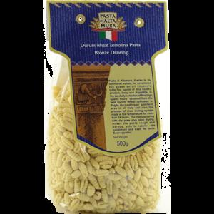 Pasta artigianale di Altamura, formato Gnocchetti Rigati 500 gr.