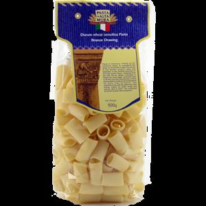Pasta artigianale di Altamura, formato Rigatoni 500 gr.