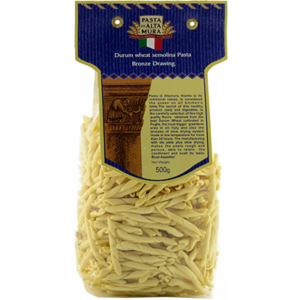 Pasta artigianale di Altamura, formato Strozzapreti 500 gr.