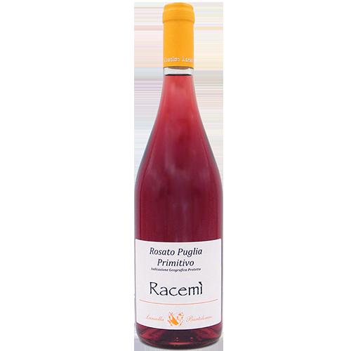 Vino Rosato Puglia Primitivo I.G.P. 12% vol. Racemì