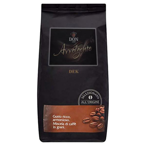 Confezione Caffè in grani Don Caffè DEK